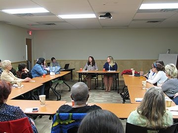 Sharing concerns about human trafficking