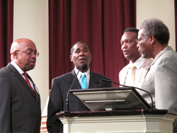 Gospel singers 5 to Life at Hendricks Chapel