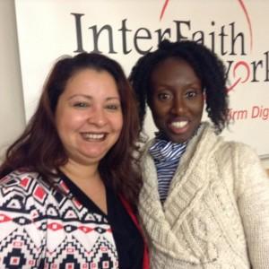 Elisa Morales (left) and Kompalya Charles (right)
