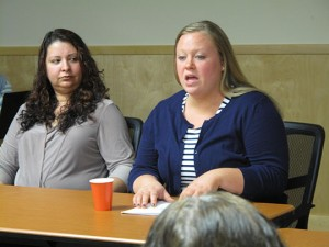 The speakers said one of the busiest times for trafficking locally is the State Fair.