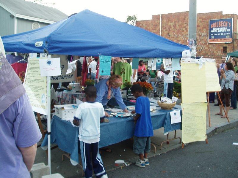 Westcott Street Fair display
