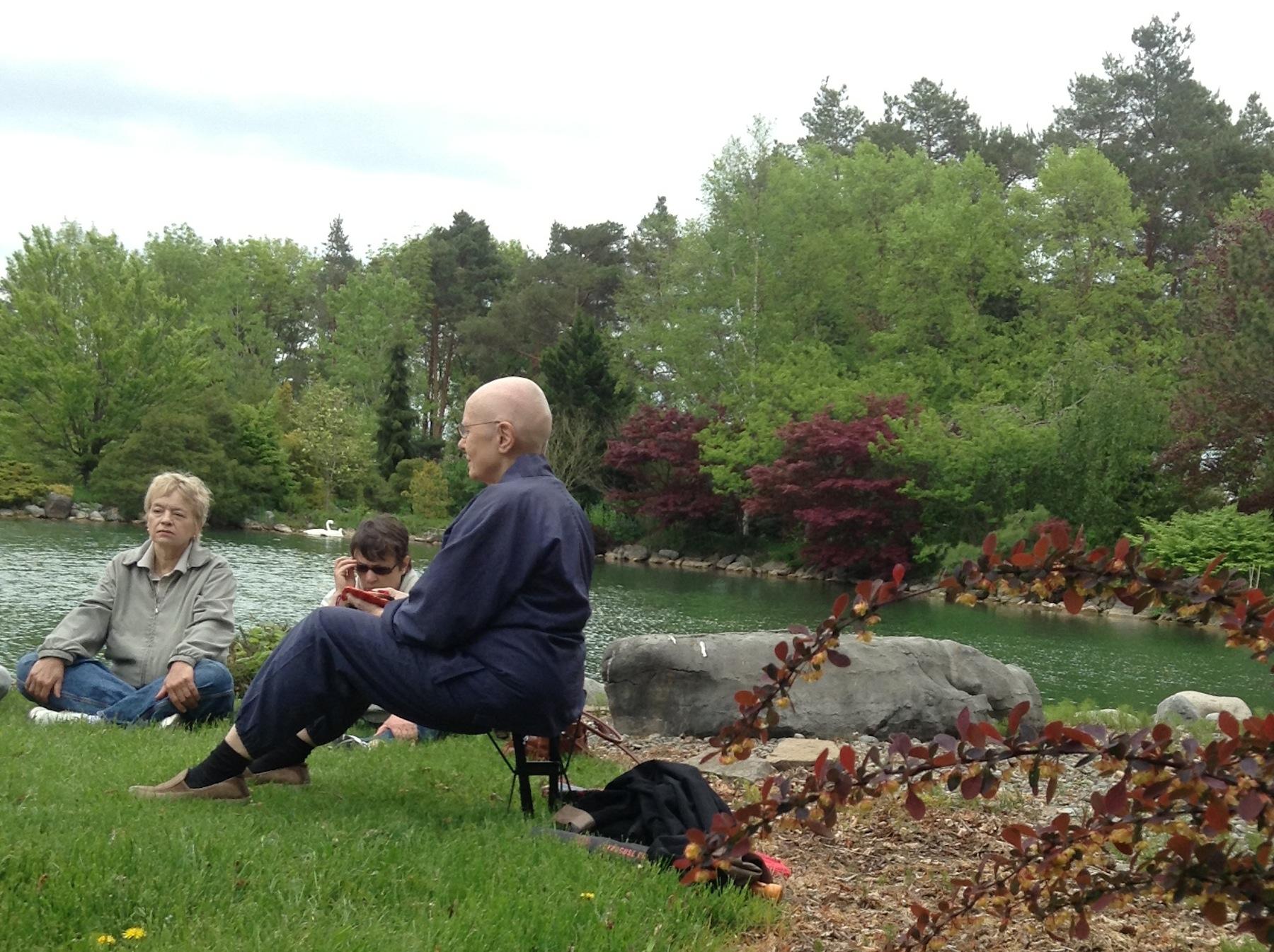 A Zen meditation