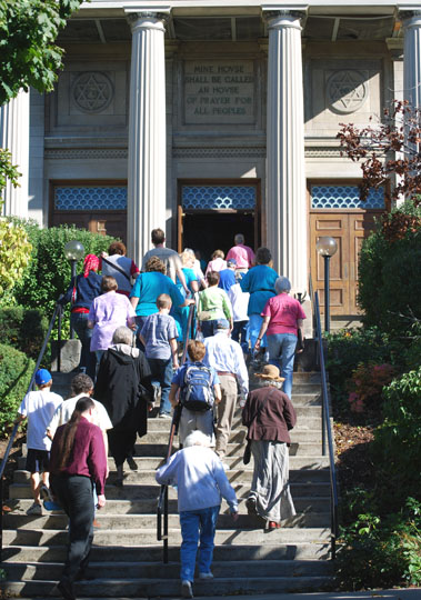 Temple Concord - climbing steps JTOA 2007