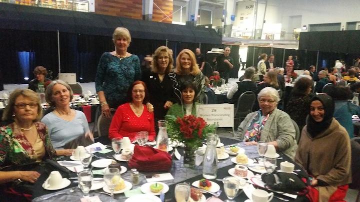 WTB members at the Interfaith Leadership Awards Dinner, 2017