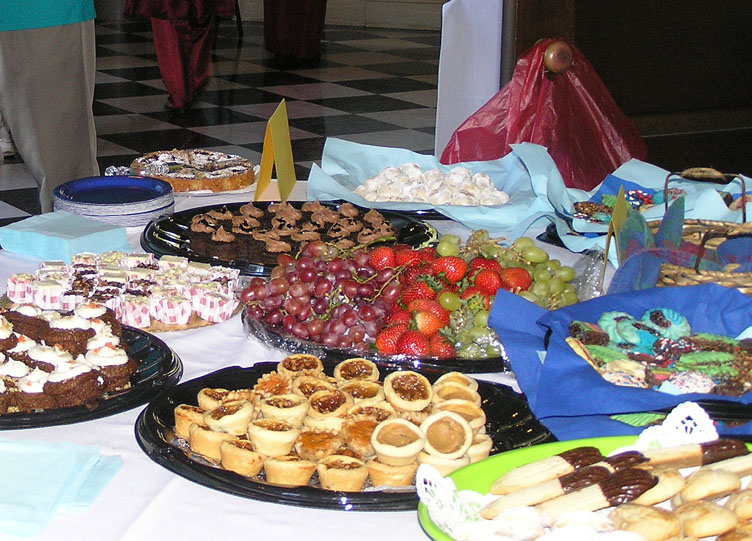 Hendricks Chapel - Food from diverse cultures