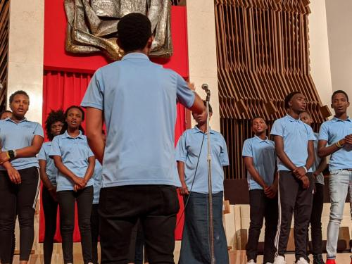 All Saints Roman Catholic Parish - song by Congolese Choir