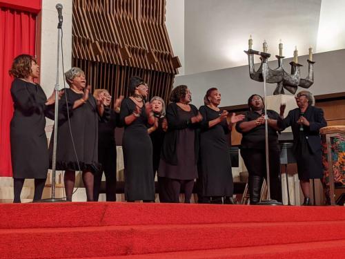 Syracuse Chapter Gospel Music Workshop of America - songs