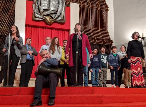 Congregation Beth Sholom-Chevra Shas, Temple Adath Yeshurun, Temple Concord - song