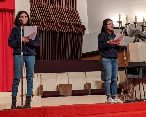 Syracuse Seeds of Peace - reading